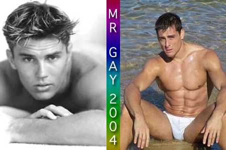 And Mr Gay Australia 32 years old from Perth.